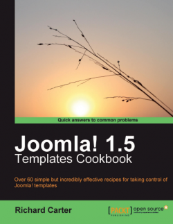 Joomla! 1.5 Templates  Cookbook, Richard Carter