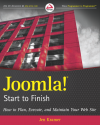 Joomla! Start to Finish, Jen Kramer